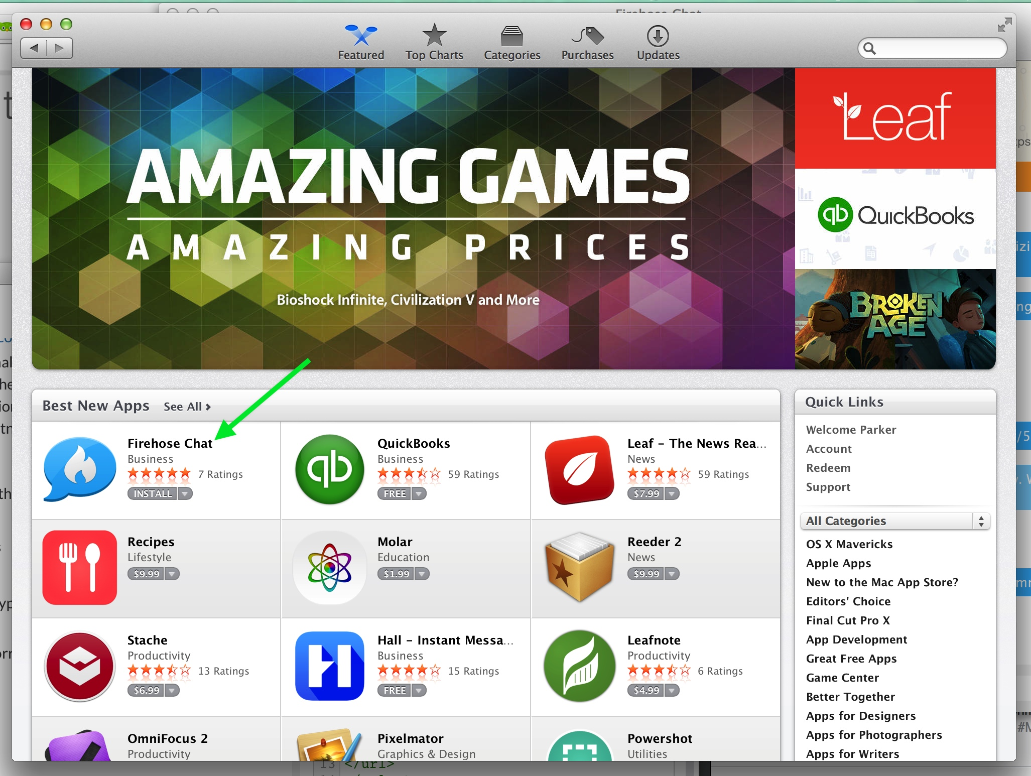 5 of our apps have been featured on the home page of the App Store