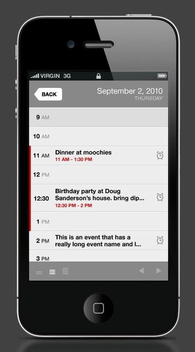 Calvetica was the first calendar app on the App Store in 2010